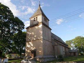 Kościół w Ostrykole z 1667 roku