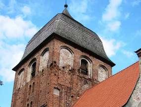 Gotycki kościół  ewangelicko - augsburski w Pasymiu
