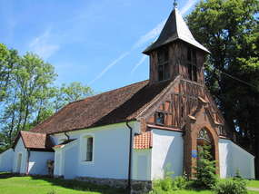Kościół z pocz. XIX wieku w Rańsku
