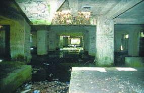 Podziemna hala w Kamińsku