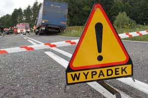 Zablokowana DK16. Wypadek z udziałem pięciu pojazdów w Kaplitynach