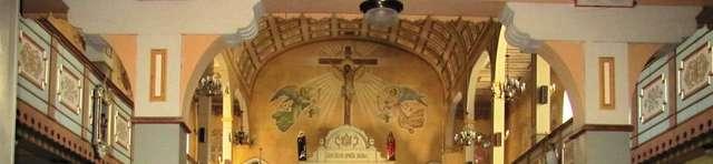 Nidzica: kościół Niepokalanego Poczęcia NMP i Świętego Wojciecha - full image