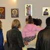 Wystawa ikon w cerkwi w Giżycku