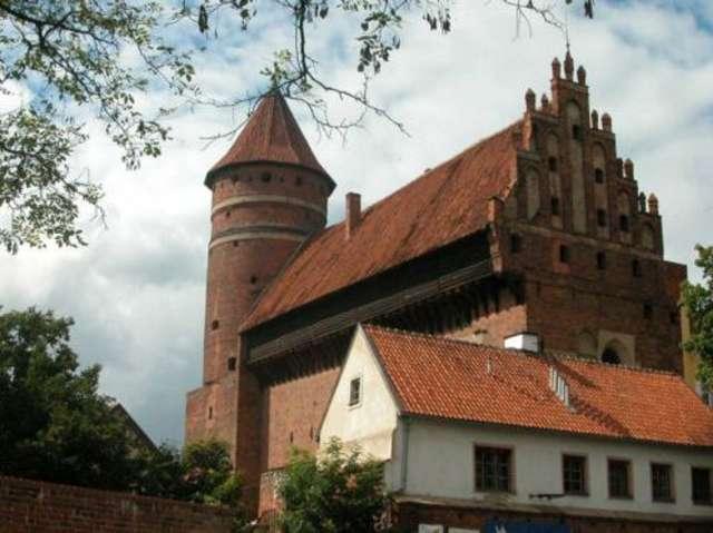 Olsztyński zamek - full image