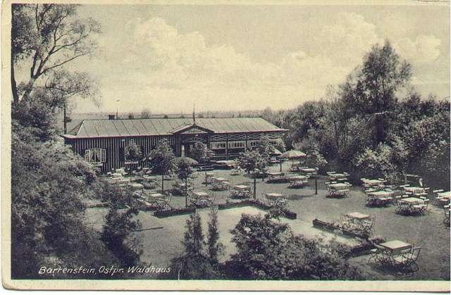 Restauracja, która przed II Wojną Światową znajdowała się w Lasku TPD
