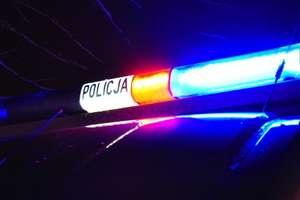 Wypadek na drodze Mały Łęck - Płośnica