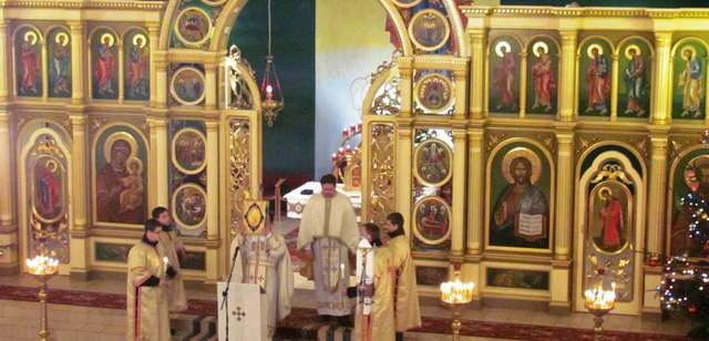 Wigilia u olsztyńskich grekokatolików - full image