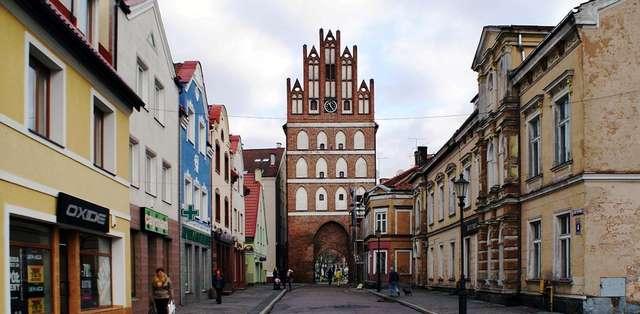 Brama Lidzbarska w Bartoszycach - full image