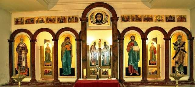 Bartoszyce: Cerkiew greckokatolicka św. Andrzeja Apostoła - full image