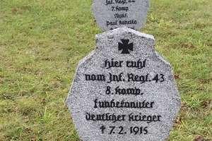 Snopki: cmentarz wojenny z I wojny światowej