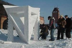 Elbląg: Festiwal Rzeźby w Śniegu