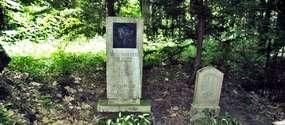 Grób żony Ernsta Wiecherta w Strzałowie