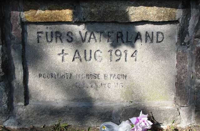 Szczytno: cmentarz wojenny z 1914 roku - full image