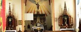 Kościół św. Jana Chrzciciela z 1897 roku w Giławach