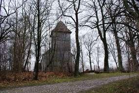Kościół z 1706 roku w Rynie Reszelskim