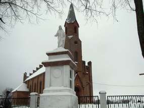 Kościół z 1866 roku w Zastawnie