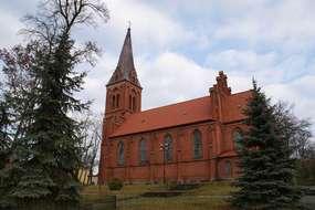 Kościół św. Brunona  (1883 rok) w Bartoszycach