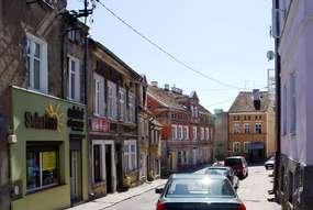 Rynek w Górowie Iławeckim