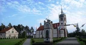 Kościół w Lesinach Wielkich z 1859 roku