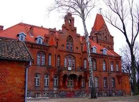 Budynek starostwa z 1897 roku w Olecku