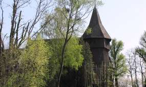 Kościół w Błudowie z 1718 roku