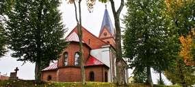 Kościół w Sterławkach Wielkich z 1832 roku
