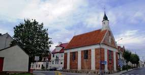 Kaplica św. Krzyża w Jezioranach