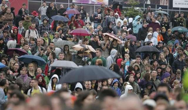 Kortowiada 2013: Będzie padać. Studenci się cieszą! - full image