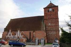 Barciany: kościół z XIV wieku