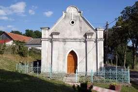 Kaplica z XIX wieku w Kabinach