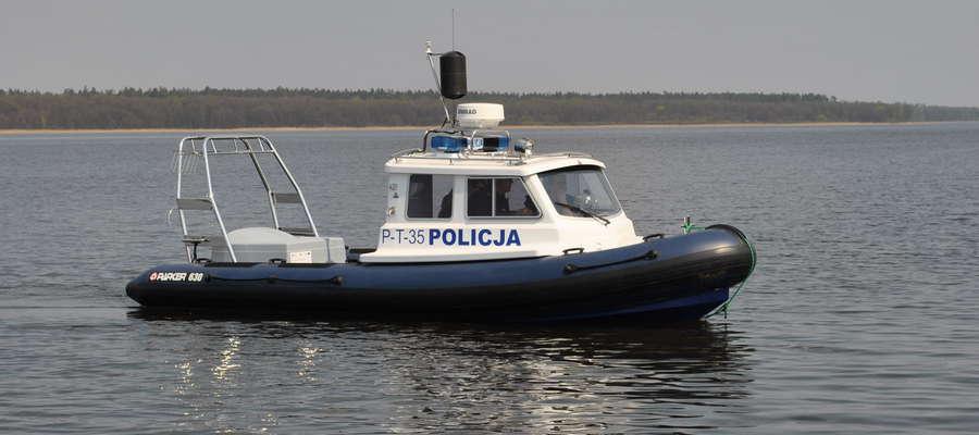 """""""Wodniacy"""" mają do dyspozycji taką łódź"""