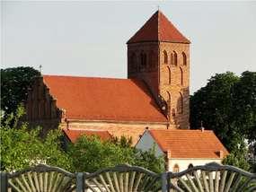 Kościół z XIV wieku w Łąkorzu