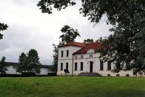 Pałac z XIX wieku w Łojdach