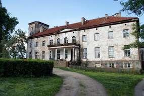 Pałac z XIX wieku w Nerwikach