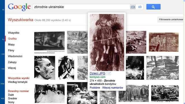Cyganka zawiniła, Ukraińców powiesili - full image