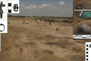 Mikołajki: Odkryli osadę z pierwszych wieków naszej ery