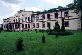 Pałac z XIX wieku w Więckach