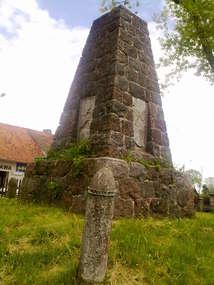 Pomnik poległych w czasie I wojny światowej w Barcianach