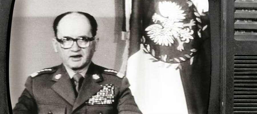 Ogłoszenie stanu wojennego '81 r. Gen. Jaruzelski
