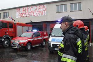 Funkcjonariusze wyjdą na ulice. Protest służb mundurowych w Olsztynie