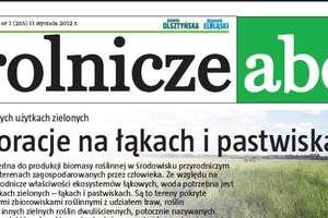 Rolnicze ABC - Najnowszy numer w wydaniu ONLINE!