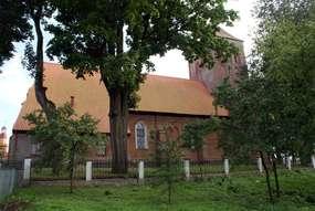 Kościół pw. Podwyższenia Krzyża Świętego w Srokowie