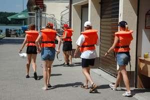 Młodzi żeglarze wpadli do Czosu