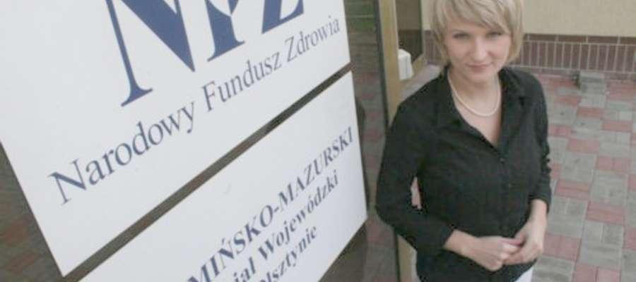 Magdalena Mil,  rzecznik WM OW NFZ w Olsztynie, twierdzi. że złamano prawa pacjenta.
