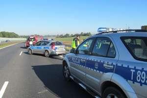 Wypadek pod Nidzicą. Siedem osób poszkodowanych