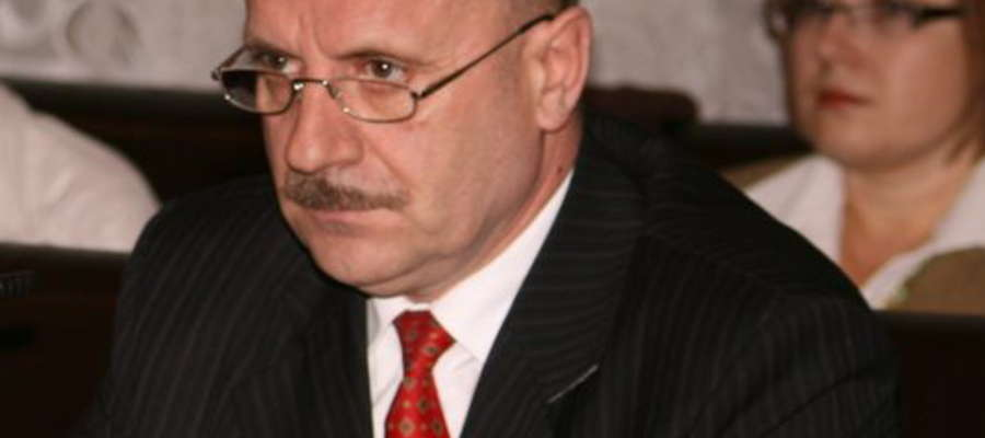 Józef Maciejewski, wójt gminy Sorkwity