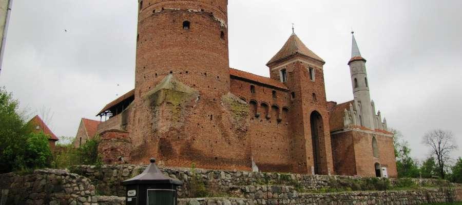 Zamek biskupi - duma Reszla
