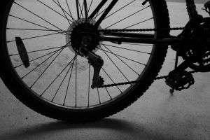 Miał zakaz, a kierował rowerem