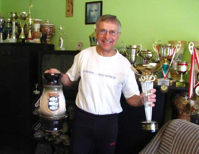 Jan Lemancewicz zdobył w swojej karierze mnóstwo pucharów i medali