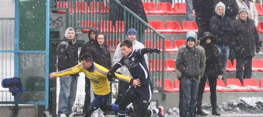 Stomil przegrał 0:2 w Ząbkach.